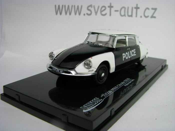 Citroen DS19 Police de Paris 1:43 Vitesse